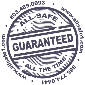All-Safe guarantee logo All-Safe Industrial Services Beech Island SC GA NC