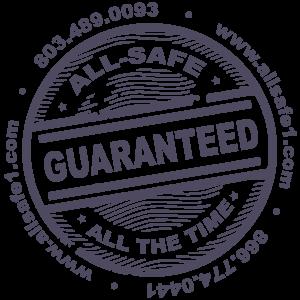 All-Safe guarantee logo All-Safe Industrial Services Beech Island SC GA NC