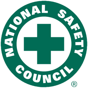 National Safety Council logo All-Safe Industrial Services Beech Island SC GA NC